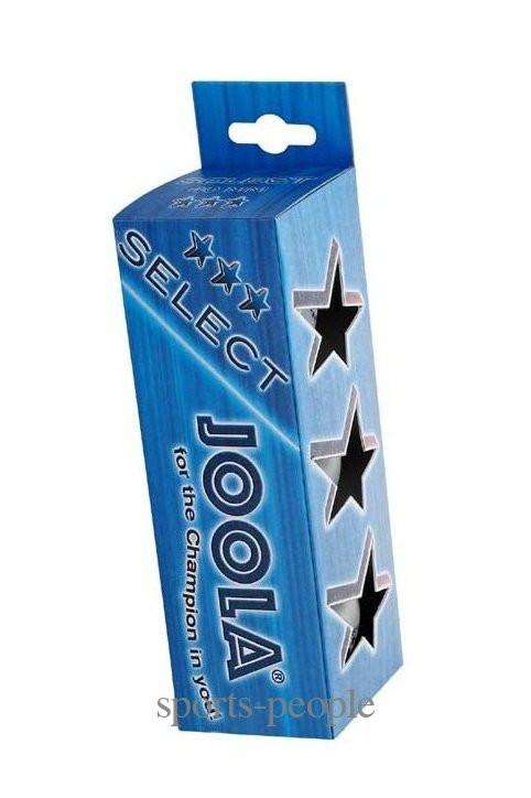 Мячи для настольного тенниса Joola Select 3*, 40 mm, (3 шт.)