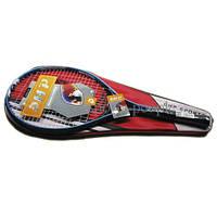 Ракетка для большого тенниса DHP+чехол, разн. цвета.
