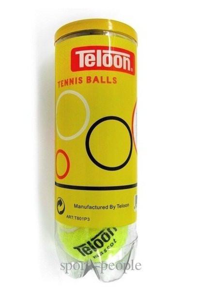 Мяч/мячи для большого тенниса Teloon 801P, 3 шт.