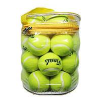 Мяч/мячи для большого тенниса Final, 12 шт. в сумке.