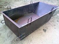 Ящик для раствора 1,0м3 (мелалл — 3мм), фото 1
