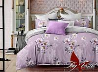 ✅ Двуспальный Евро комплект постельного белья (Люкс-сатин) TAG S264