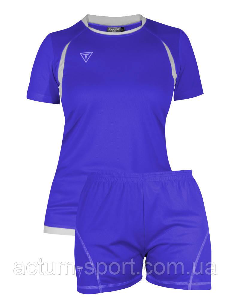 Волейбольная форма Prima Titar женская синий M