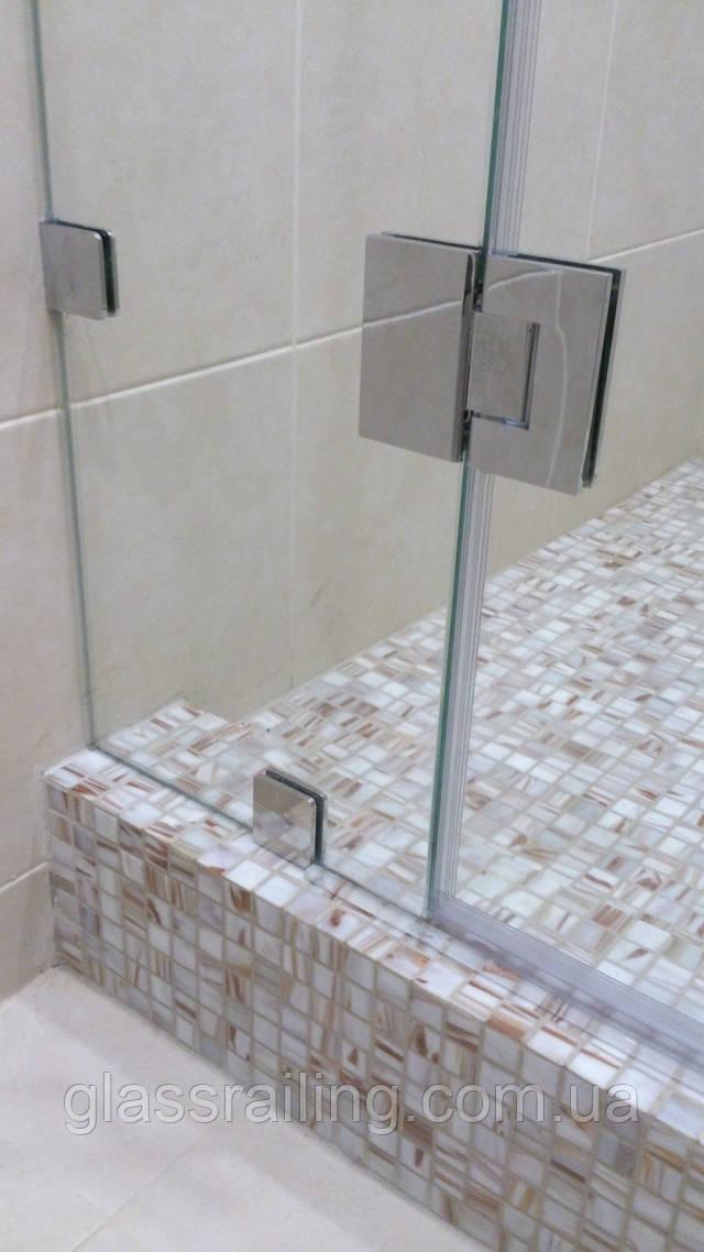 Фурнітура для скляних душових кабін
