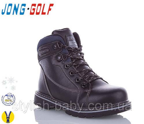 Нова колекція зимового взуття 2019 оптом. Дитяче зимове взуття бренду Jong Golf для хлопчиків (рр. з 28 по 33), фото 2