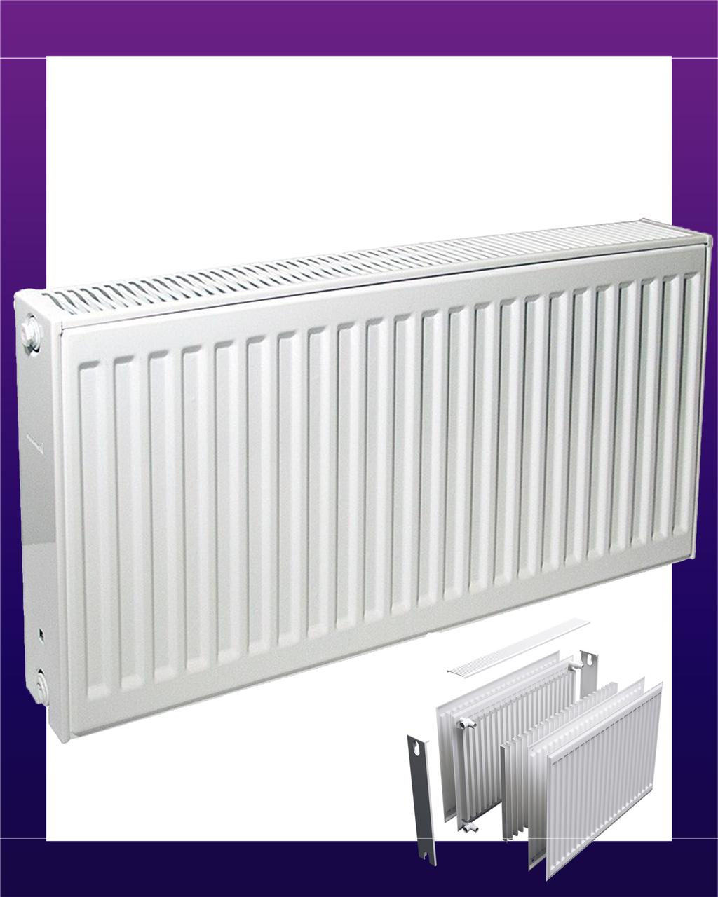 Радиатор стальной Djoul тип 22 высота 300 1437 Вт