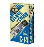 АРТИСАН С-14 Клеющая смесь для приклейки и армирования минеральных плит, 25 кг