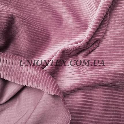 Ткань вельвет костюмно-плательный фрез, ширина 150см, фото 2
