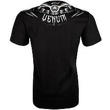 Футболка Venum Gladiator 3.0 T-shirt Black White, фото 3