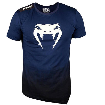 Футболка Venum Interference 2.0 T-shirt Blue, фото 2