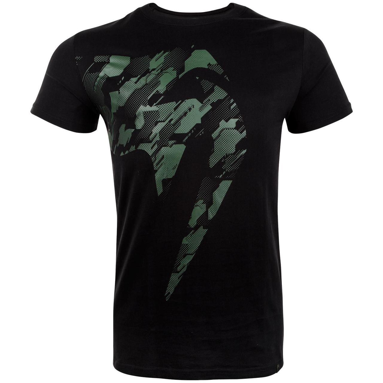 Футболка Venum Tecmo Giant T-Shirt Khaki Black