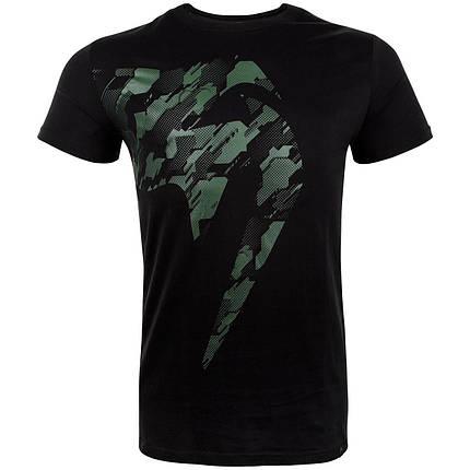 Футболка Venum Tecmo Giant T-Shirt Khaki Black, фото 2