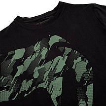 Футболка Venum Tecmo Giant T-Shirt Khaki Black, фото 3