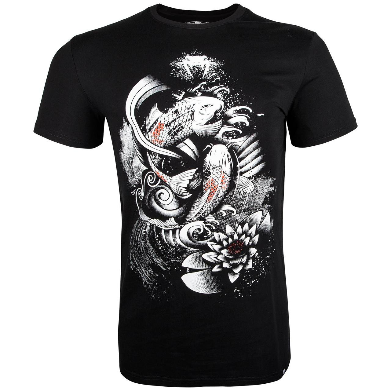 Футболка Venum Koi 2.0 T-Shirt Black White