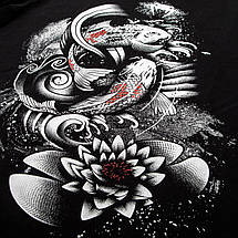 Футболка Venum Koi 2.0 T-Shirt Black White, фото 3