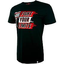 Футболка Venum Fight Your Limits T Shirt Black, фото 2