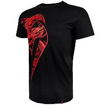Футболка Venum Giant x Dragon T-shirt Black Red, фото 2