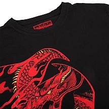 Футболка Venum Giant x Dragon T-shirt Black Red, фото 3
