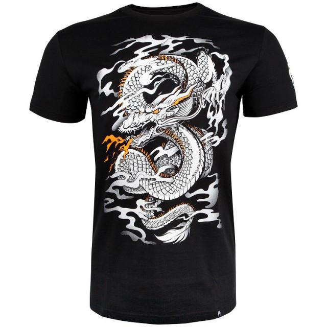 Футболка Venum Dragons Flight T-shirt Black White
