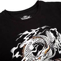 Футболка Venum Dragons Flight T-shirt Black White, фото 2