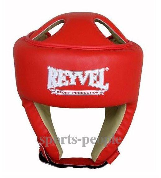 Шлем для каратэ/бокса Reyvel, винил, разн. цвета, L