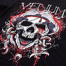 Футболка Venum Pirate 3.0 T-shirt Black Red, фото 3
