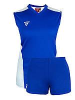 Волейбольная форма Sphere Titar женская (майка и шорты) синий XS