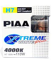 Автолампы PIAA Xtreme White Plus H7 / 4000K / комплект 2шт.