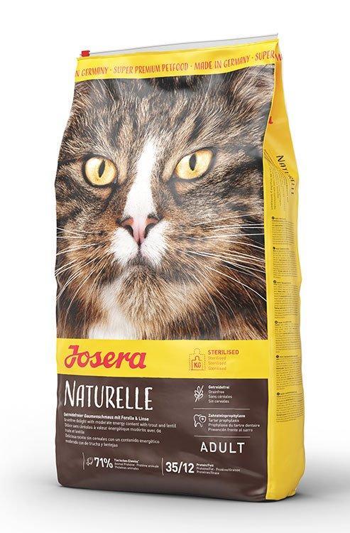 Josera (Йозера) Naturelle сухой беззерновой корм для стерилизованных кошек, 10 кг