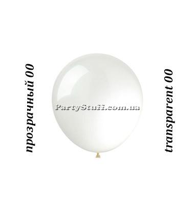 Воздушные шарики Gemar А50 Белый прозрачный