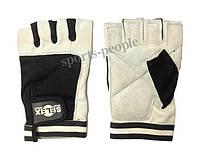Перчатки спортивные б/п Selex Matrix, кожа, размеры: S, M, L, XL