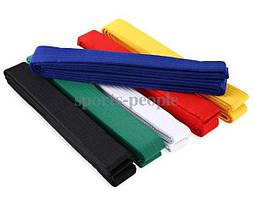 Пояс для кимоно, 100% коттон, 260*4 см, разн. цвета