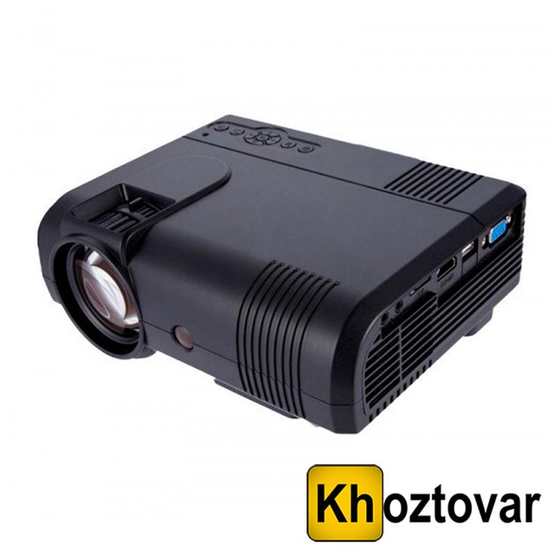 Мультимедийный LED проектор L8 1200 люмен Wi-fi