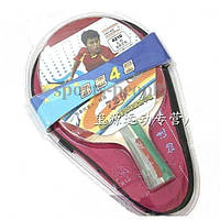 Набір для настільного тенісу/пінг-понгу 729 Friendship 4210 (4*): ракетка+чохол