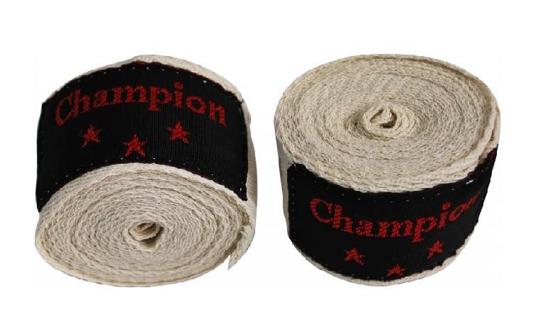 Бинты боксерские Champion, 3м, разн. цвета