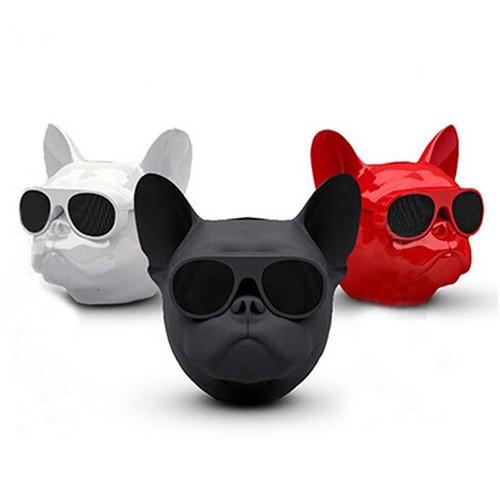 Портативная Bluetooth-колонка Aerobull DOG Head Mini Белый