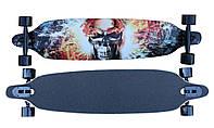 Лонгборд/скейт Longboard S, разн. графити