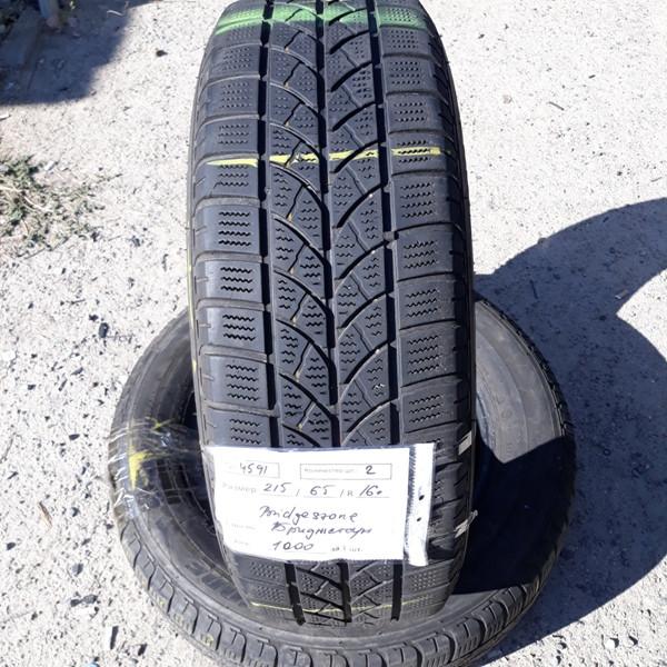 Бусовские шины б.у. / резина бу 215.65.r16с Bridgestone Blizzak LM 18с Бриджстоун