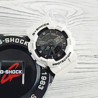 Женские наручные часы Casio G-Shock GA-110 White-Black New белого  цвета