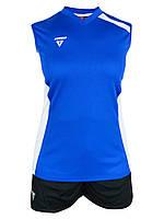 Волейбольная форма Line Titar женская (майка и шорты) синий