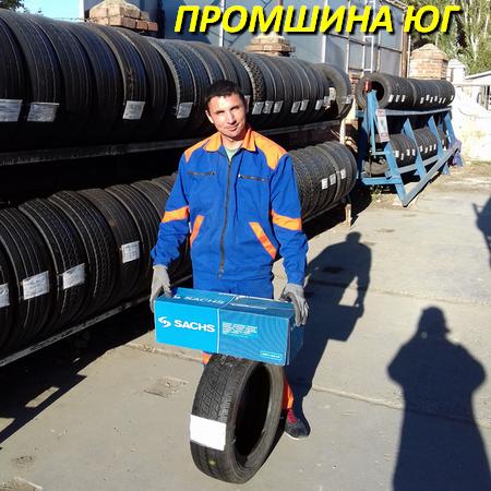Грузовые шины б.у. / резина бу 215.75.r17.5 Sava ORJAK 03 Сава
