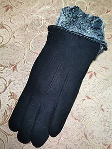Трикотаж з махра Angel рукавички чоловічі тільки оптом