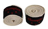 Бинты боксерские Champion, 4м, разн. цвета