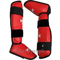 Захист стопи і гомілки (фути) Boxer, вініл, розміри: S, m, L, XL різном. кольори, фото 1