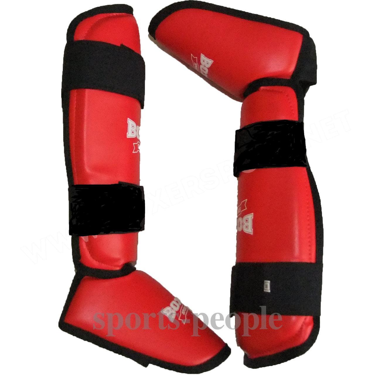 Захист стопи і гомілки (фути) Boxer, вініл, розміри: S, m, L, XL різном. кольори