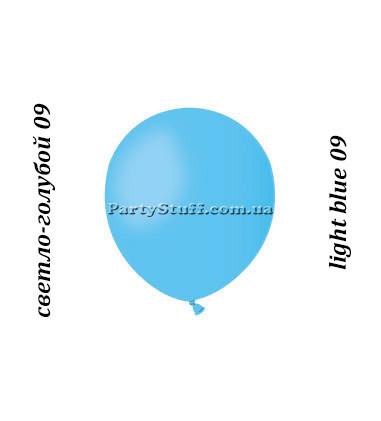 Надувные шары Gemar АМ50 светло-голубой пастель