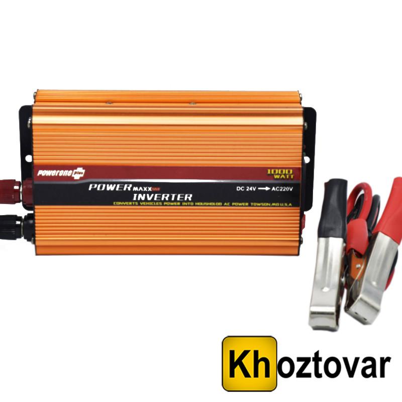 Преобразователь 24В в 220В Power One 1000Вт
