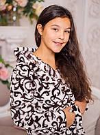 Халат Eirena Nadine на девочку (52-426)  рост 152см кремовый