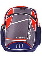 Школьный рюкзак «Q&Q» красный , фото 1