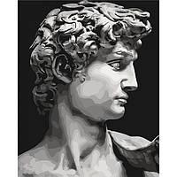 "Картина по номерам. ""Давид Микеланджело"" 40*50см KHO4617"